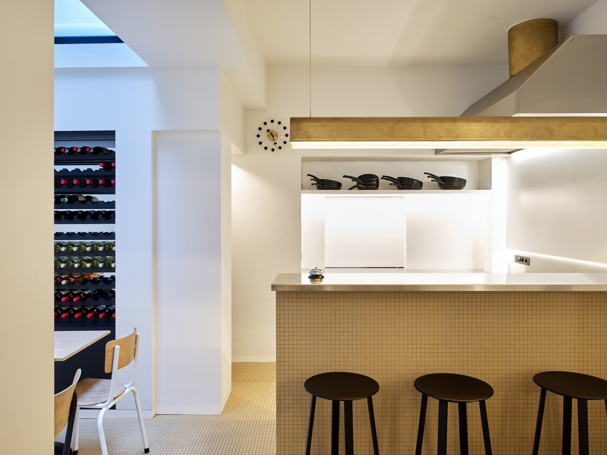 Passe Vite Oostende - inrichting restaurant
